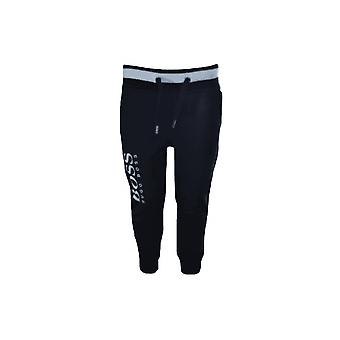 Hugo Boss Boys Hugo Boss Boy's Black Jogging Bottoms