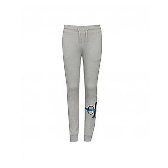 Calvin Klein Jeans Monogram Logo Cuffed Joggers