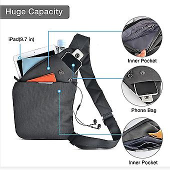 4smarts Universal Cross Body Tablet Smartphone Case for devices up to 9.7 grey