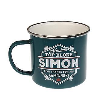 Histoire et Héraldique Simon Tin Mug 81