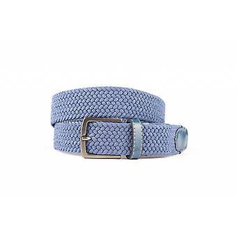 Bella cintura di tessitura blu