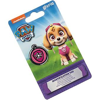 Paw Patrol Placa identificación Skye (Dogs , Collars, Leads and Harnesses , Accessories)