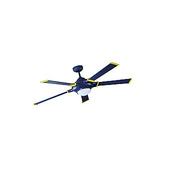 Ceiling fan Blue-Star with light and remote 135cm / 53