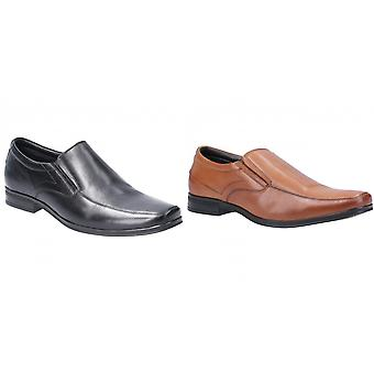 Hush Puppies Mens Billy Slip On Leather Shoe