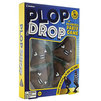 Plop Drop Party Game Toilet Humour Gross Team Race Kids Adults
