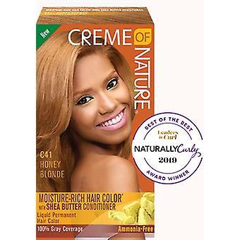 Creme af naturen fugt-rige hårfarve Honning Blonde C41