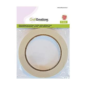 CraftEmotions Double-sided adhesive tape 9 mm 20 MT  1 RL 3.3199