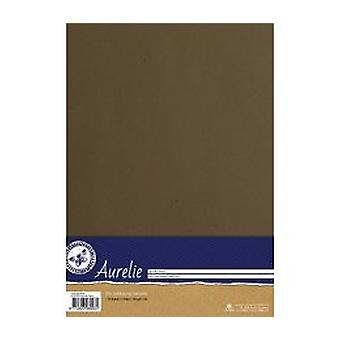 Aurelie Kraft Paper Brown