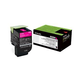 Lexmark 808Xme Magenta Extra High Yield Corporate Toner Cartridge