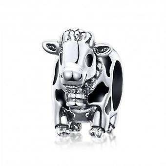 Sterling Silver Charm Cow - 6015