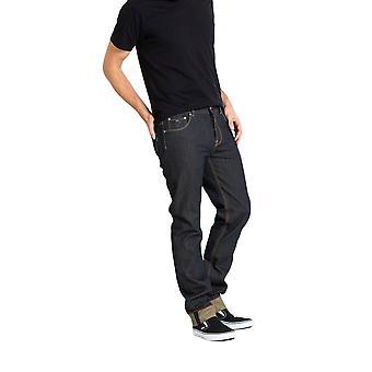 Chet Rock Navy Slim Jim Jeans 34 L