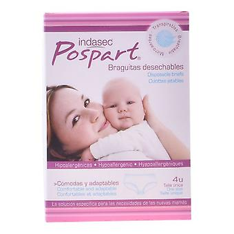 Disposable Panties Pospart Indasec (4 uds) One size
