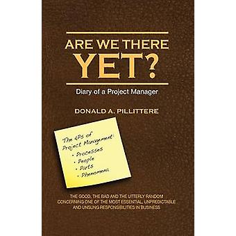 Are We There Yet Diary of a Project Manager by Pillittere & Donald Angelo