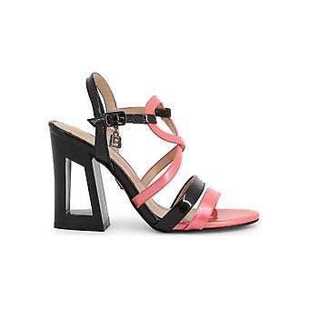 Laura Biagiotti - sko - sandal - 6294_PATENT_FUXIA - damer - pink, sort - EU 41