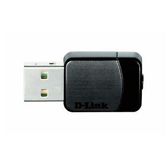 Network Adaptor D-Link NADAIN0150 DWA-171 Dual AC750 USB WiFi