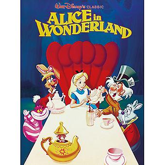 Alice in Wonderland 1989 Kangaslevy 30 * 40cm