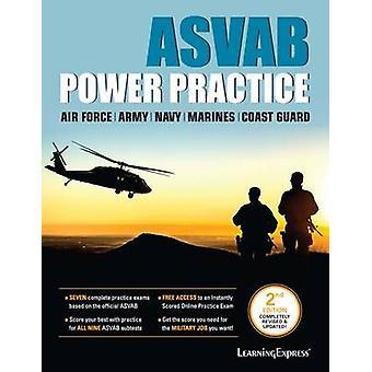 ASVAB - Power Practice (2nd) - 9781611030013 Book