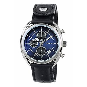 Breil watch Chronograph quartz men's watch with leather TW1528