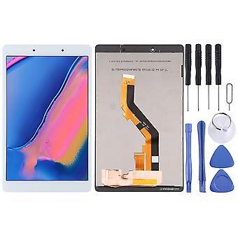 Näyttöyksikkö Näyttö LCD kosketusnäyttö Samsung Galaxy Tab 8.0 2019 T290 WIFI-versio Full White