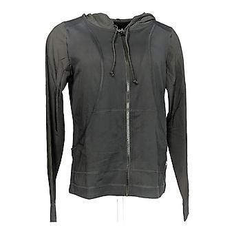 Anybody Women's Move Zip Up Hooded Jacket Black A306093