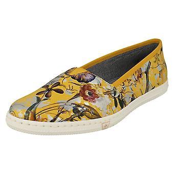 Ladies Rieker Slip On Summer Shoes M2772