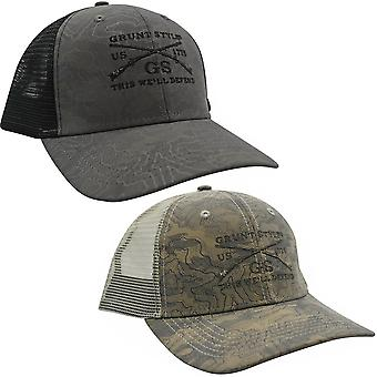 Grunt Style Logo Topography Hat