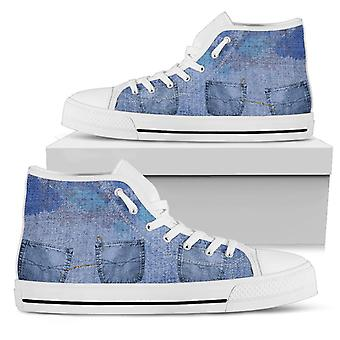 High Top Schuhe | Denim Doppelschuss