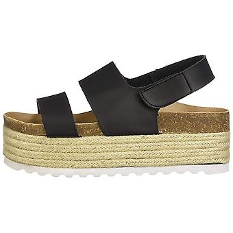 Dirty Laundry Womens Peyton Open Toe Casual Platform Sandals