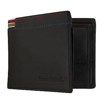 Bruno banani mens wallet portemonnee tas belangrijkste geval zwart 7353