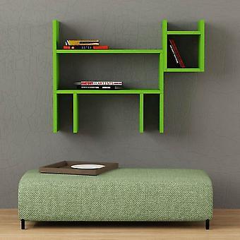 Mensola Dogie Color Verde in Truciolare Melaminico 80x22x58 cm
