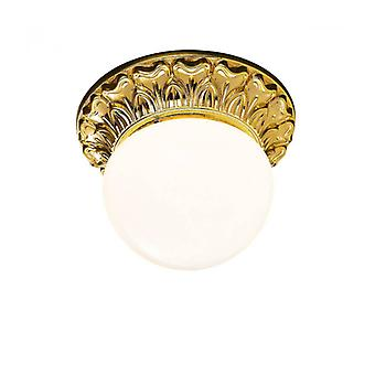Classic Ceiling Light Milady Gold French 1 Bulb