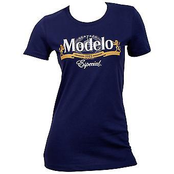 Modelo Especial Women-apos;s Blue T-Shirt