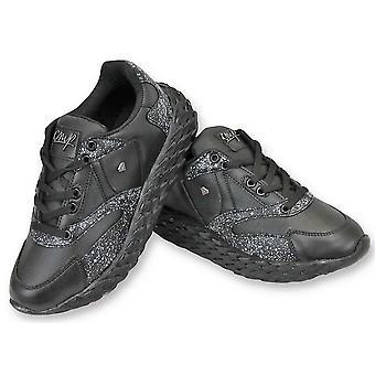 Shoes - Touch Black - Black