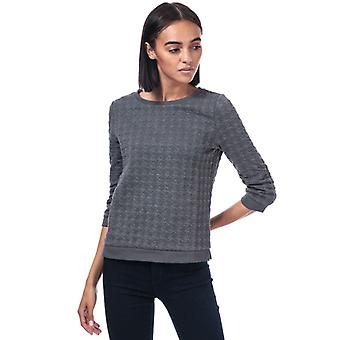 Women's Only Mynthe Joyce Crew Sweatshirt in Grey