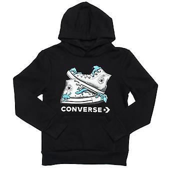 Boy's Converse Junior Bio Chuck Hoody in Black