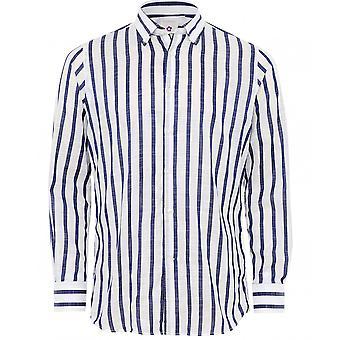 Altemflower bomull stripete skjorte