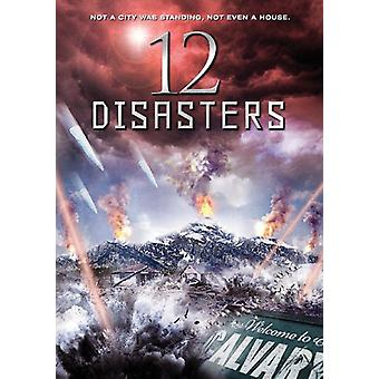 12 katastrofer [DVD] USA import