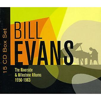 Bill Evans - Riverside & Milestone Albums 1956-63 [CD] USA import