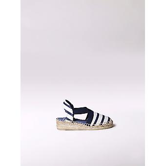 Toni Pons a girl's espadrille made of striped canvas -EDITA-BR