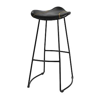 SoBuy FST81-SCH,Kitchen Breakfast Barstool Bar Stool with PU Leather Padded Seat & Metal Legs