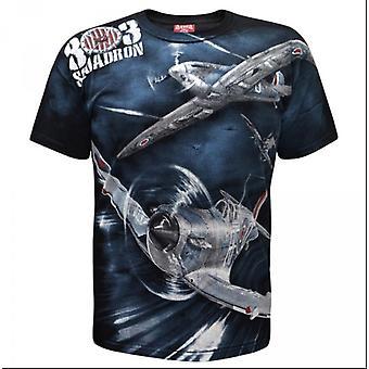 Aquila-Spitfire Squadron 303-t-shirt