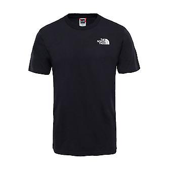 North Face Yksinkertainen Dome Miesten Muoti Rento T-paita Top Tee Musta