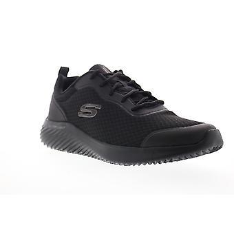 Skechers Bounder Voltis  Mens Black Mesh Athletic Cross Training Shoes