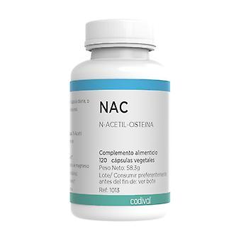 NAC N-Acetyl-Cysteine 120 vegetable capsules