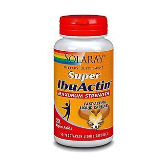 Super IbuActin 60 vegetable capsules