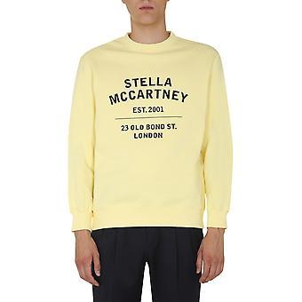 Stella Mccartney 601847smp837052 Men's Yellow Cotton Sweatshirt