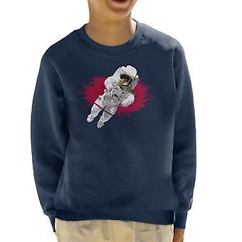 NASA Astronaut Free Flight Kid's Sweatshirt