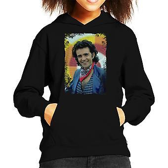 TV Times David Essex Singer And Actor 1981 Kid's Hooded Sweatshirt