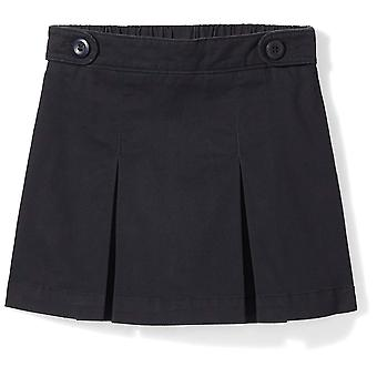 Essentials Little Girls' Uniform Skort, Schwarze Schönheit, S (6/7)