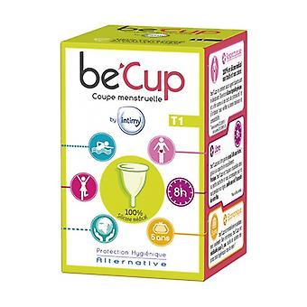 Copa menstrual Becup Tamaño 1 1 unidad
